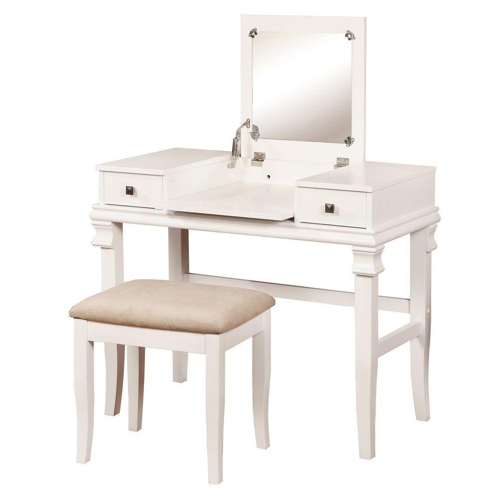 Angela White Vanity Set: Clay Alder Home Yukon White Vanity Set