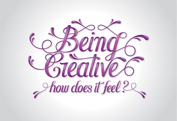 Being Creative by Aurelie Maron, via Behance
