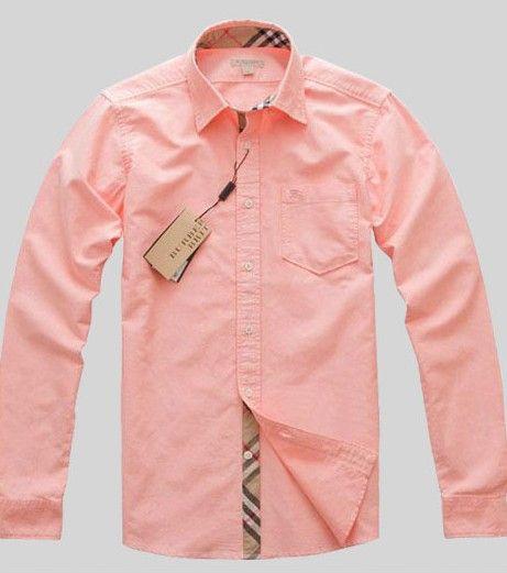 Sale: $149.99 Burberry Fashion Favourable Cotton Men Shirt Pure ...