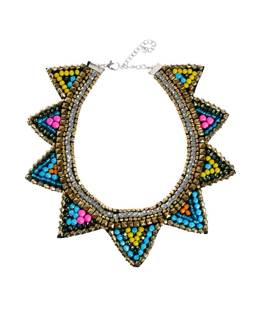 879ddc3b720d ASOS triangle bib necklace. ASOS triangle bib necklace Accesorios ...