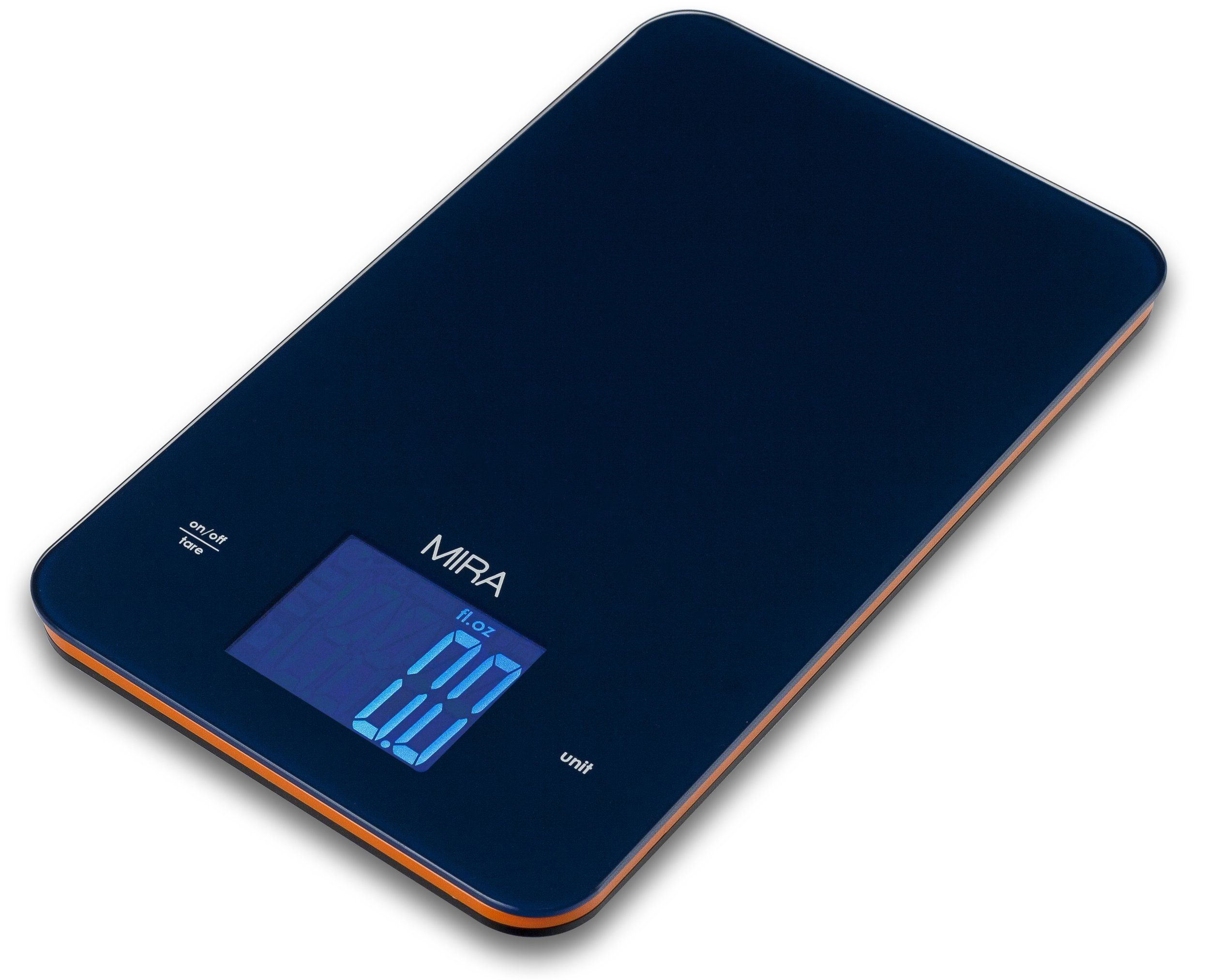 MIRA Chefs Professional Digital Kitchen Scale, Blue