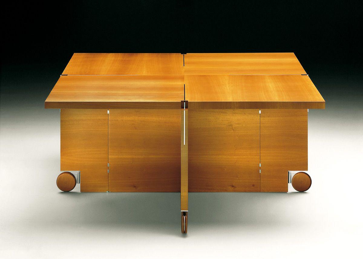Mesa De Despacho En Nogal Claro Oscuro Con Interiores En Cedro  # Muebles Cedro Y Nogal