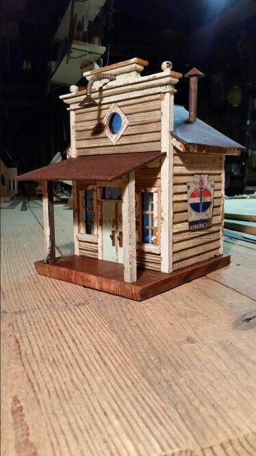 Swell Little General Store Birdhouse For The Love Of Birdhouses Interior Design Ideas Tzicisoteloinfo