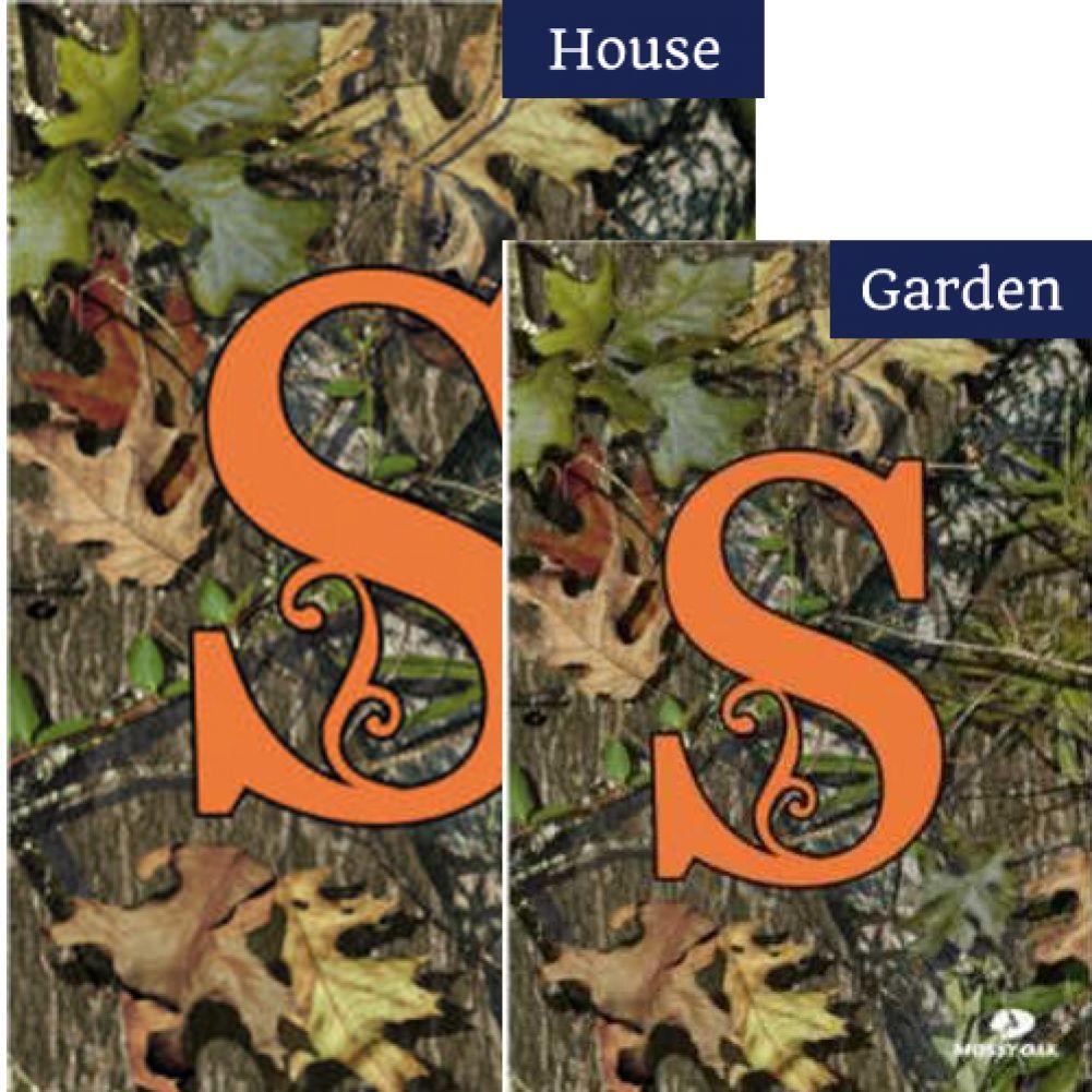 Mossy Oak S Monogram Flags Set (2 Pieces)