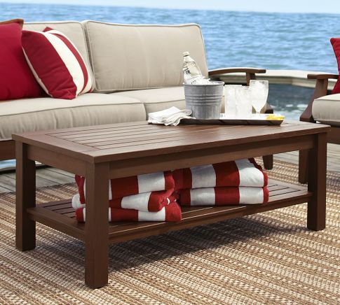 Chesapeake Coffee Table Coffee Table Lounge Chair Outdoor