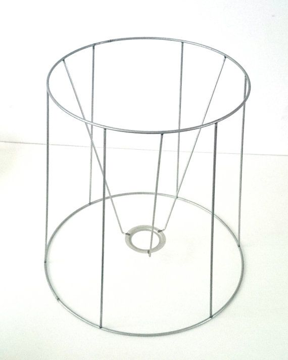 Authentic vintage antique lampshade wire frame diy lampshade and authentic vintage antique lampshade wire frame greentooth Image collections