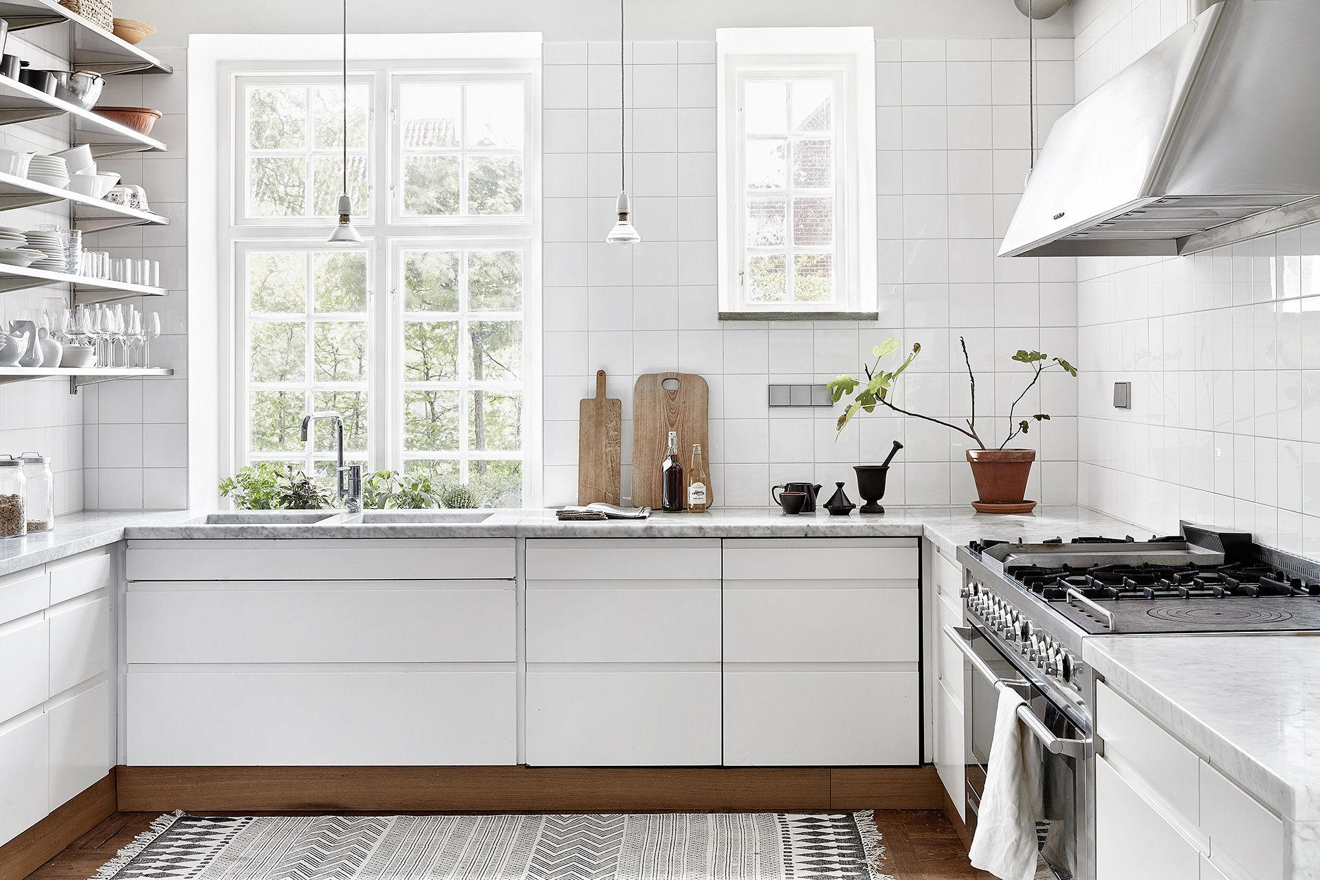 Minimal Kitchens - | Country houses, Nordic kitchen and Kitchens