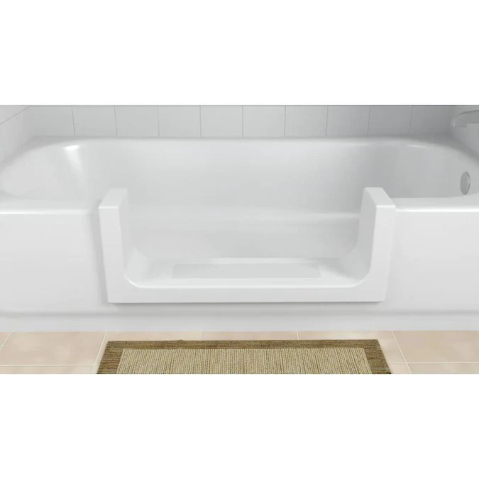 Cleancut White Bathtub Conversion Kit Lowes Com In 2020 Bathroom Safety Accessories Bathtub Bathtub Refinishing Kit
