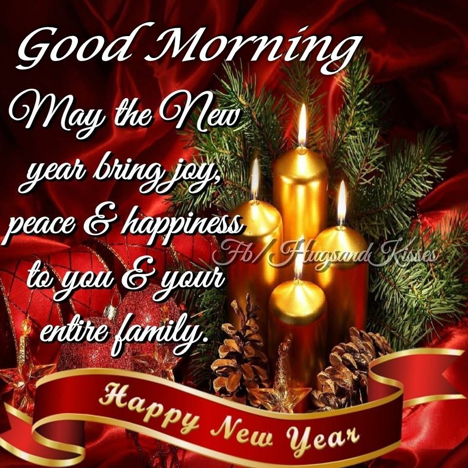 May The New Year Bring You Joy And Happiness Christmas Greetings