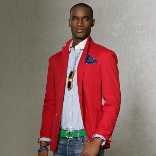 595 Polo Ralph Lauren Lightweight Cotton Sport Coat Sport Coat Spirit Fashion Cotton Blazer