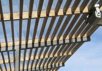 Glasüberdachung für die Terrasse
