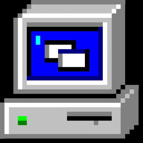 Comptr Computer Icon Windows 95 Windows 98