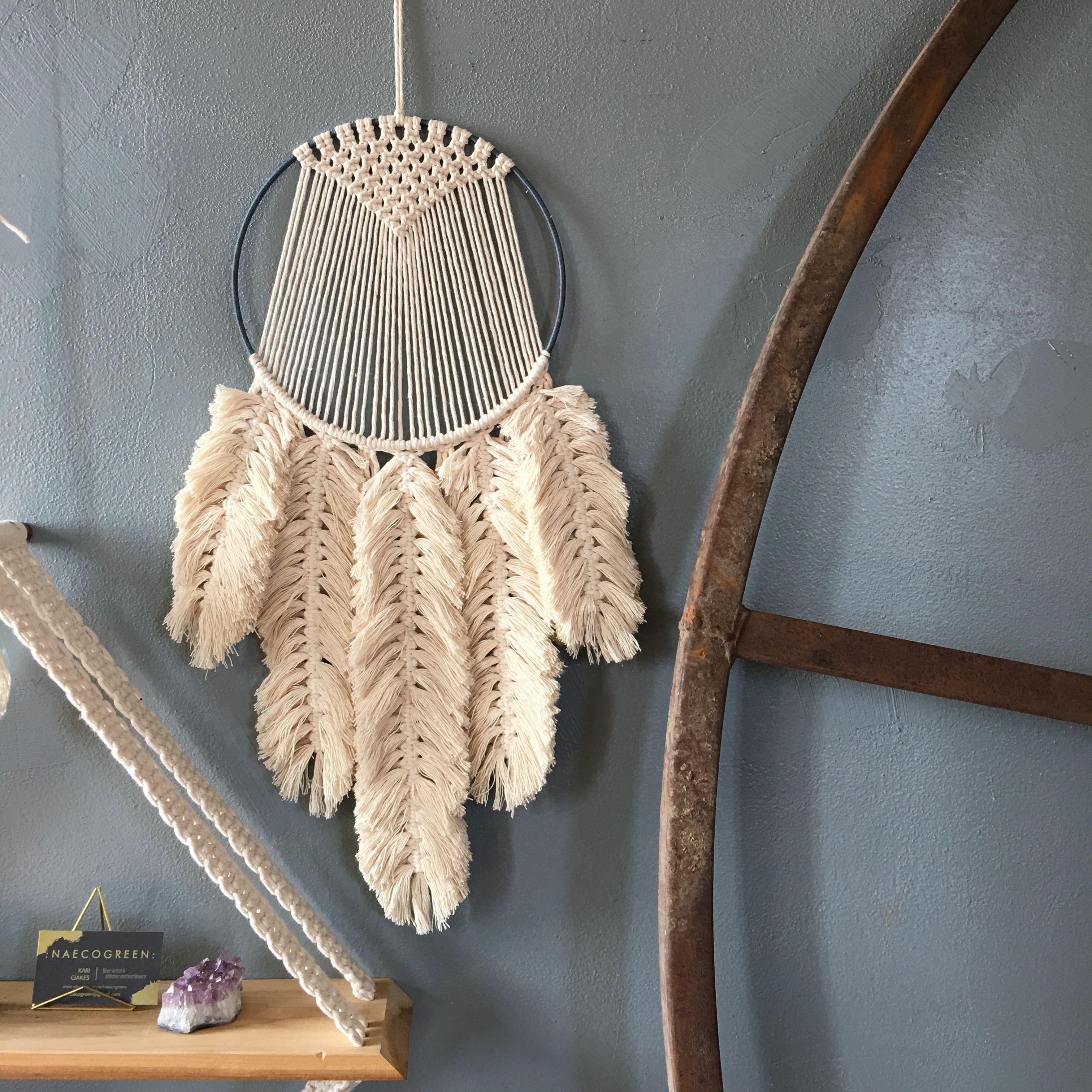 Macrame Feathers All Things Pretty Macrame Macrame