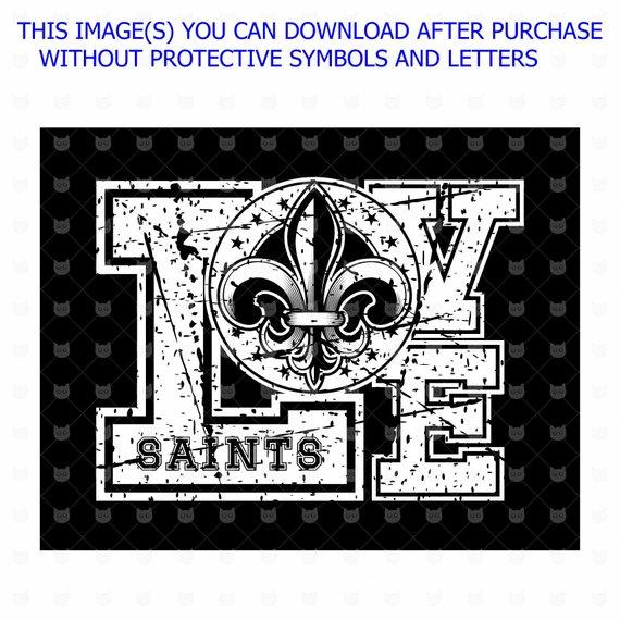 Download Love Saints svg, Heraldic flower Lily, Vector clip art ...