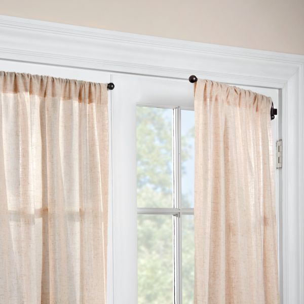 Potential Curtains For Bay Windows 1 2 Swing Arm Curtain Rod