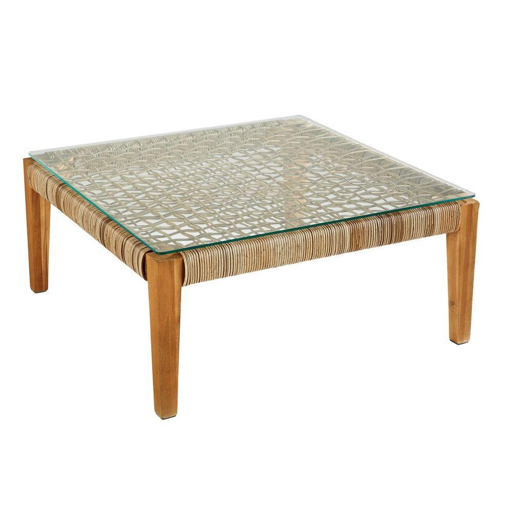 Mobilier de jardin | Table basse jardin, Table basse en ...