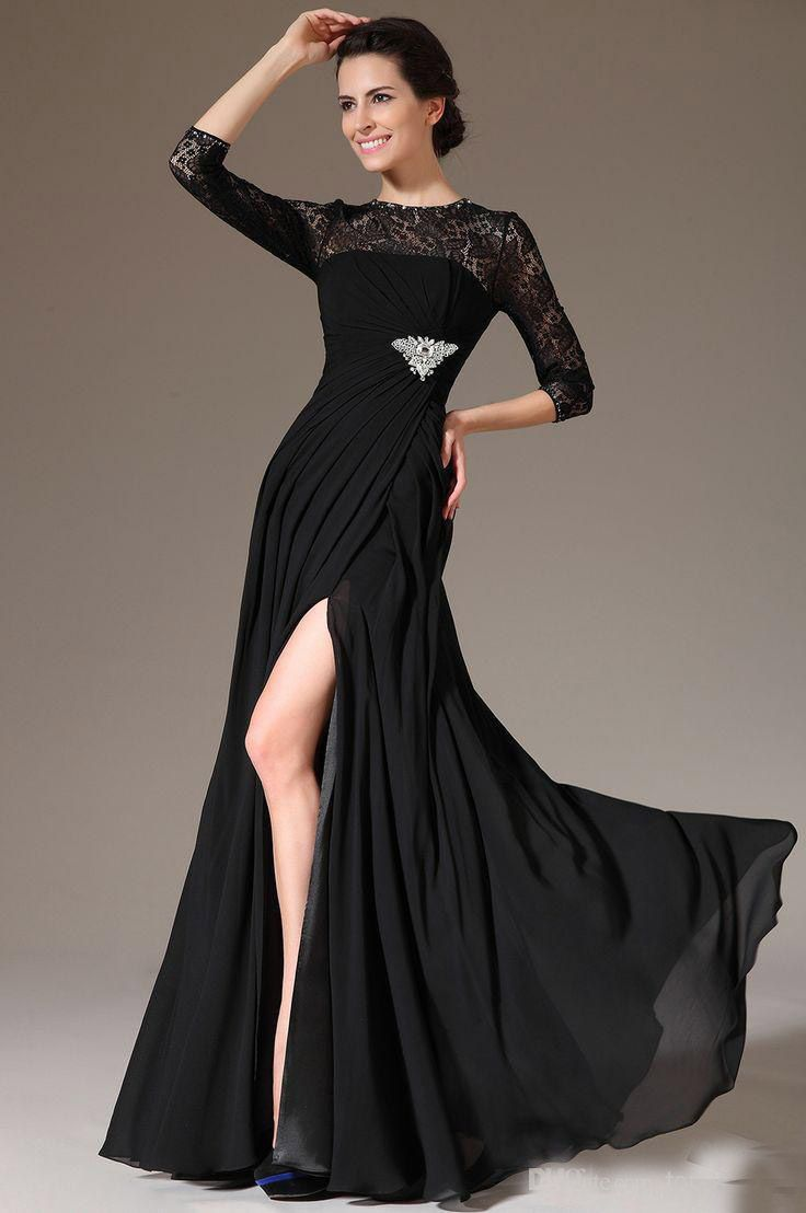 Click to buy ucuc best selling simple a line long evening dress