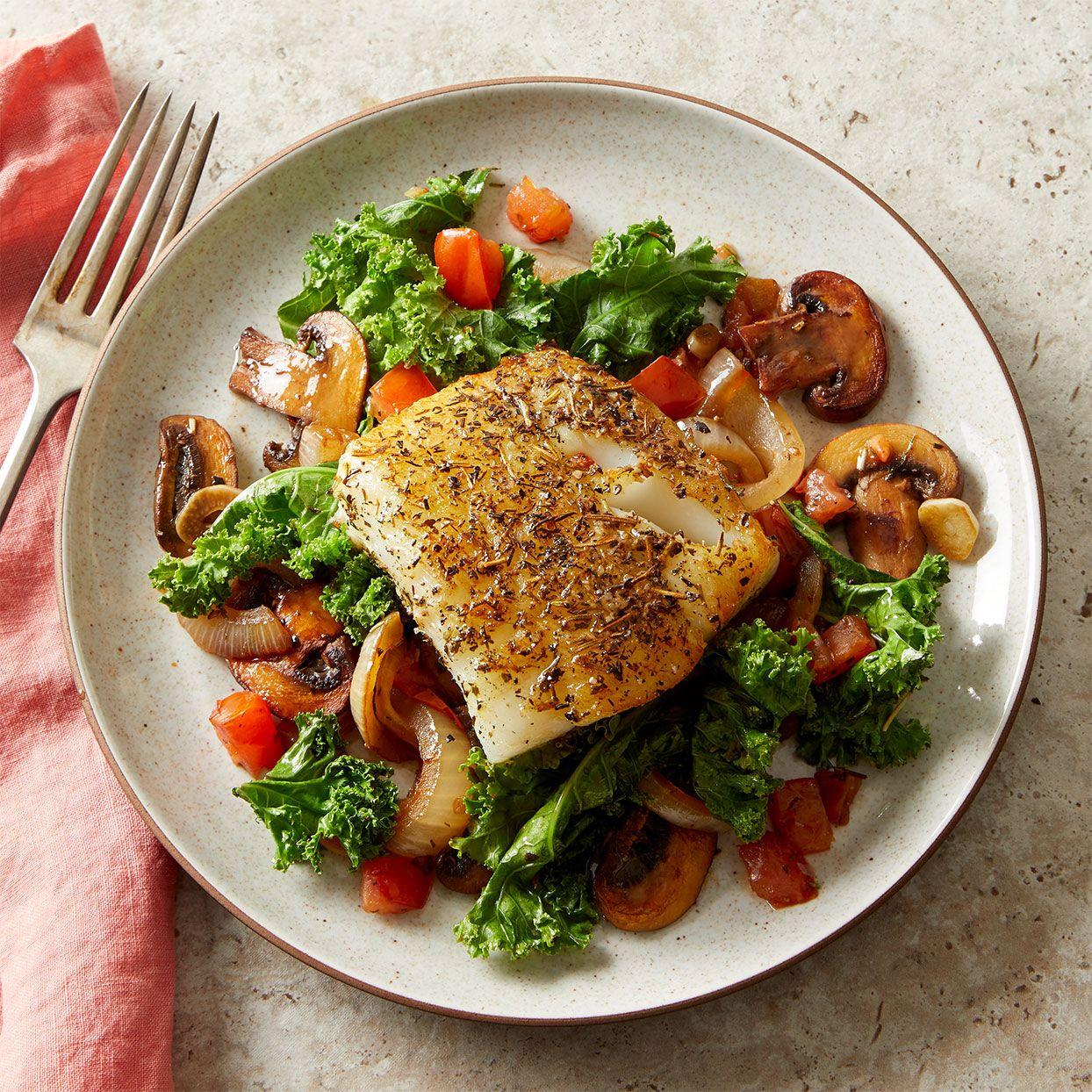Low Carb Mediterranean Fish Dinner Healthy Dinner In 20 Minutes Recipe Fish Dinner Mediterranean Fish Recipe Easy Fish Recipes