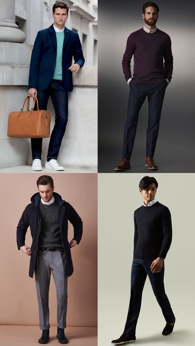 moda look outfit men cold Robert's fashion style sweater q0wHRxaP