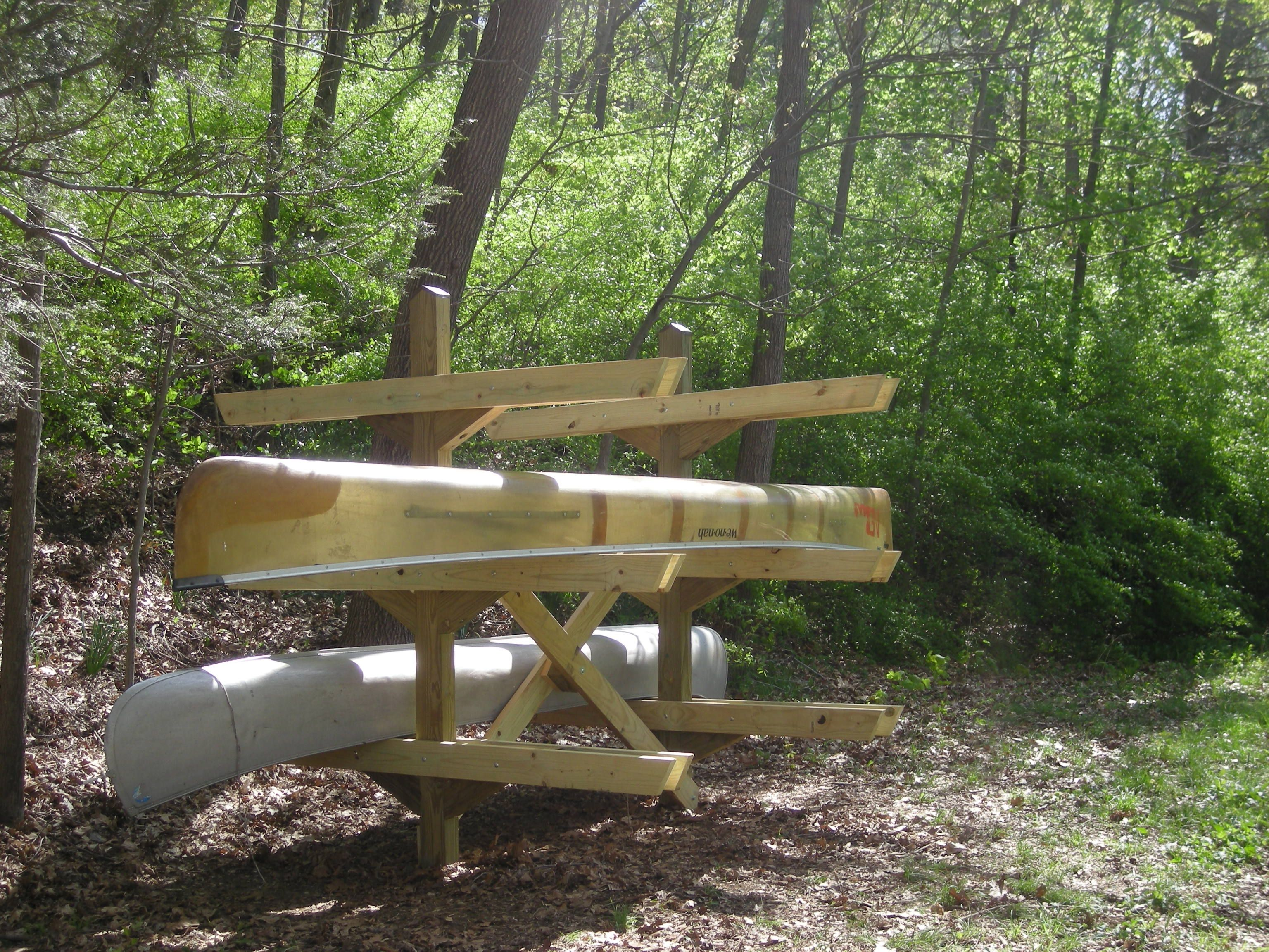 Canoe-Rack-at-Riverbend-Apr-2010-by-PAL | Woodworking projects ...