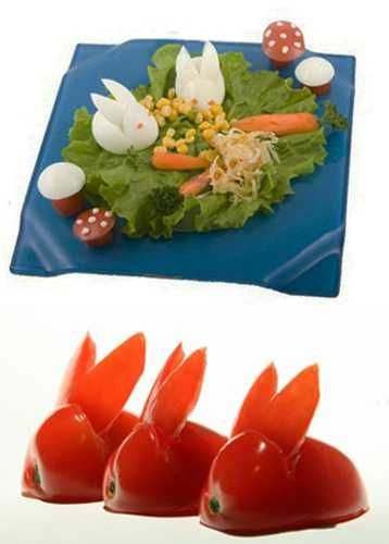 Delightful Edible Decorations For Easter Meal With Kids, 25 Creative Presentation And Food  Design Ideas