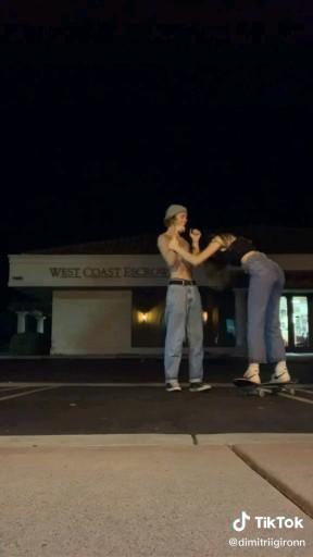 skater couple!