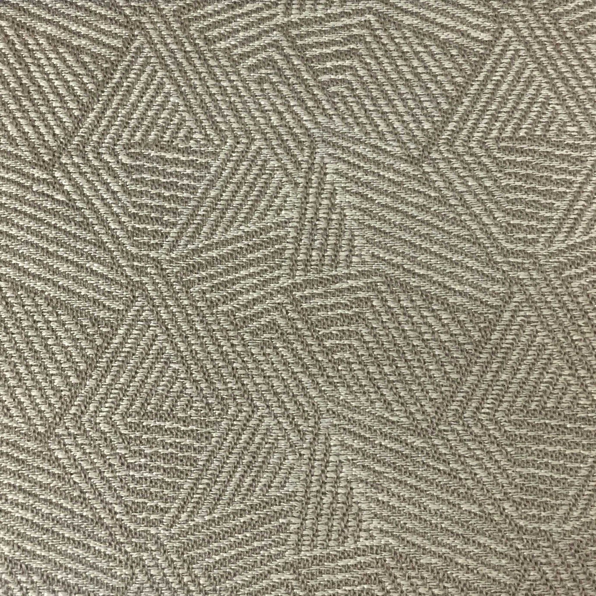 Enford - Jacquard Woven Texture Designer Geometric Pattern ...