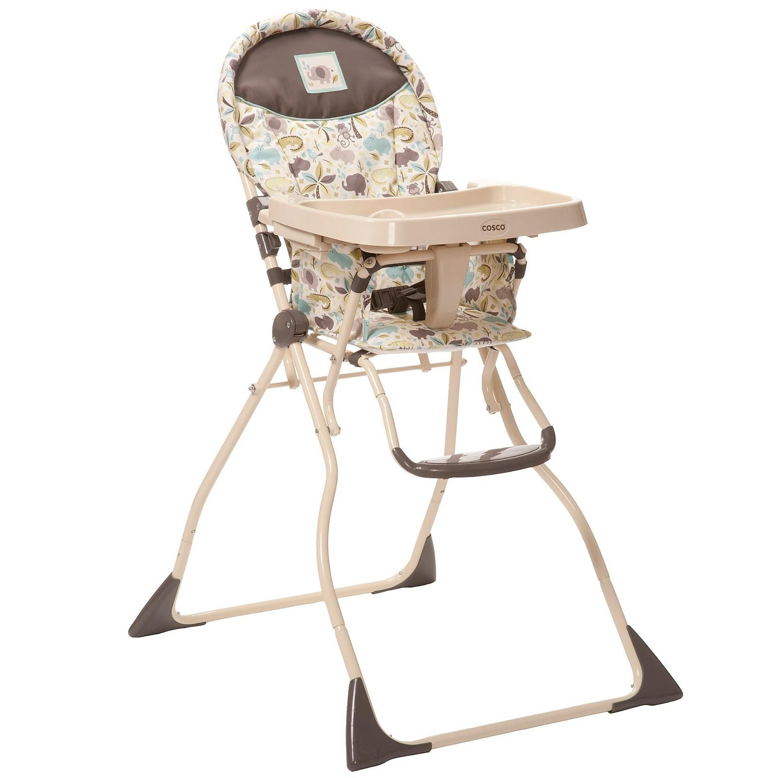 Cosco Super Safari Compact Slim Fold High Chair Baby Baby