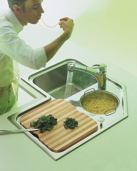 LAVELLO AD ANGOLO | cucine | Pinterest | Lavello ad angolo, Cucine e ...