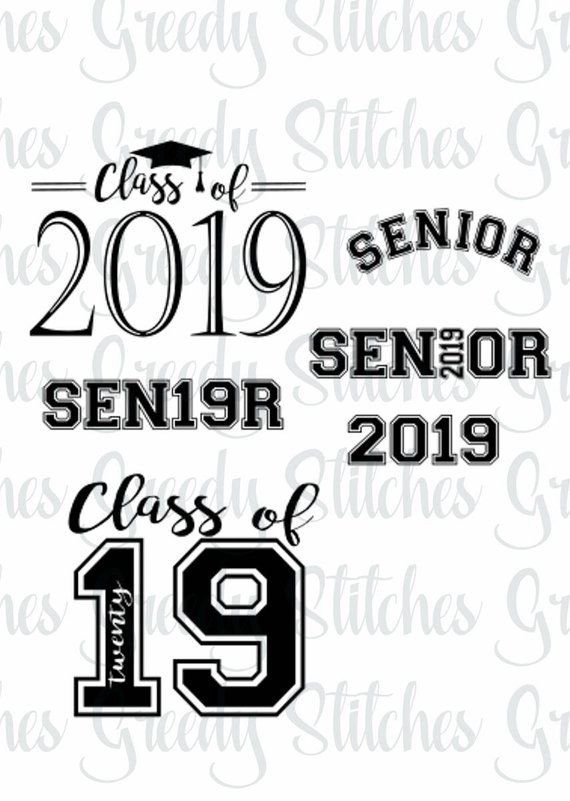 Class Of 2019 Bundle svg, dxf, fcm, eps, and png