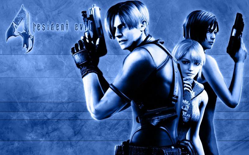 Resident Evil 4 Wallpaper Leon Ashley And Ada Resident Evil