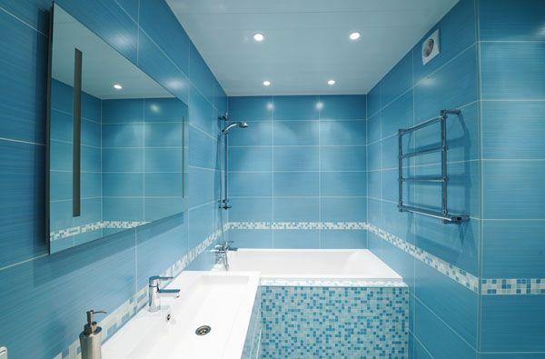 Contoh keramik kamar mandi warna biru