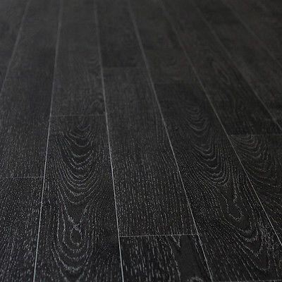 Details About Black Wood Planks Non Slip Vinyl Flooring Kitchen