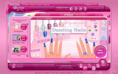 online games barbie
