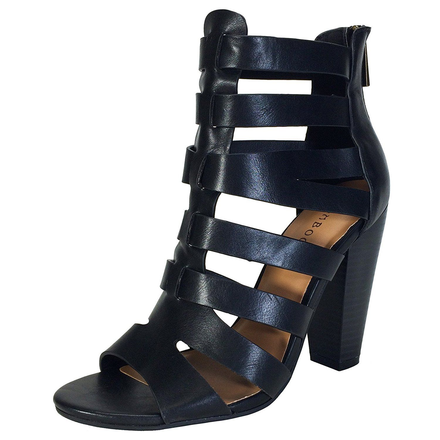 df554c589f3 BAMBOO Women s Chunky Heel Gladiator Sandal    Be sure to check out this  awesome product.  shoes