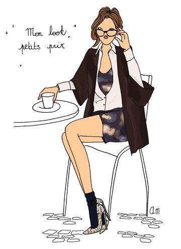 Shopping at less than 50€ http://www.doitinparis.com/fr/mode-femme/le-look-de-la-semaine/shopper-a-moins-de-50-1839 #fashion #look