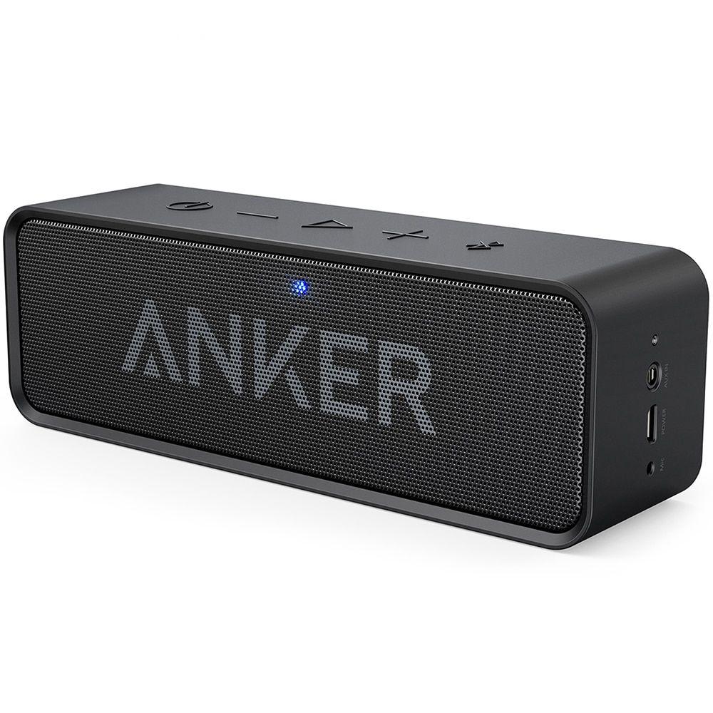 Anker SoundCore Dual-Driver Portable Bluetooth Speaker Loud Stereo Sound BLUE