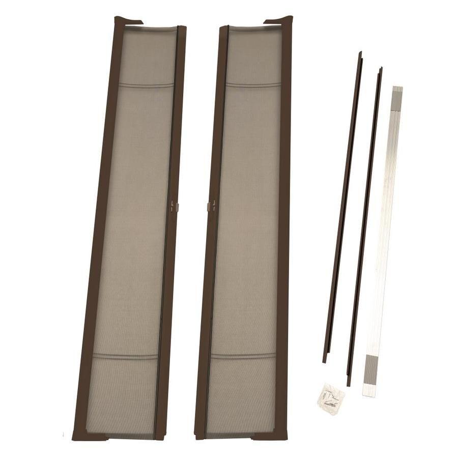 Odl Odl Brisa Retractable Screen Bronze Aluminum Frame Retractable Screen Door Common 72 In X 96 In Actual 72 In X 9 In 2020 Retractable Screen Door Lowes Bronze