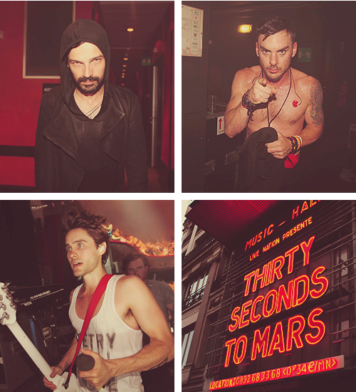 Tomo, Shannon, Jared - 30 Seconds To Mars <3
