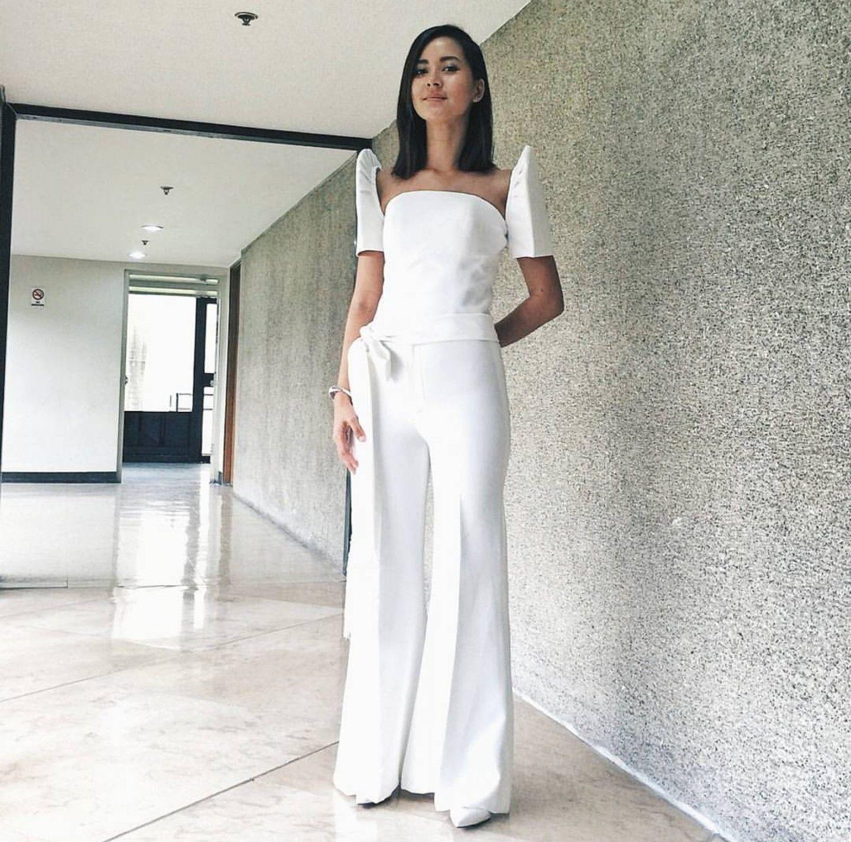 Modern Style Filipiniana Pantsuit