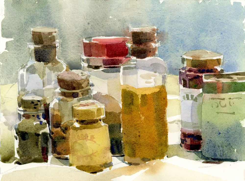Turmeric With Images Still Life Sketch Watercolor Food
