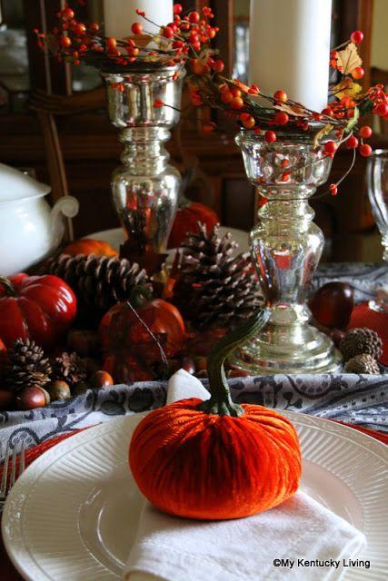 My Kentucky Living Blog Thanksgiving Table Settings Thanksgiving Table Thanksgiving Decorations