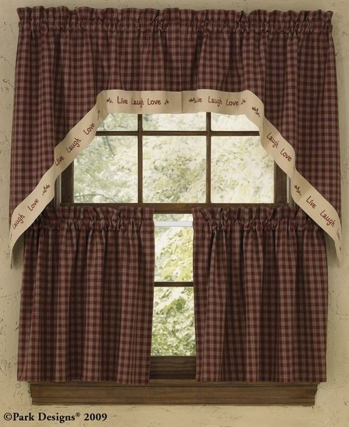 Check out the deal on Sturbridge Live 36 Inch Curtain Tiers at Primitive Home Decors