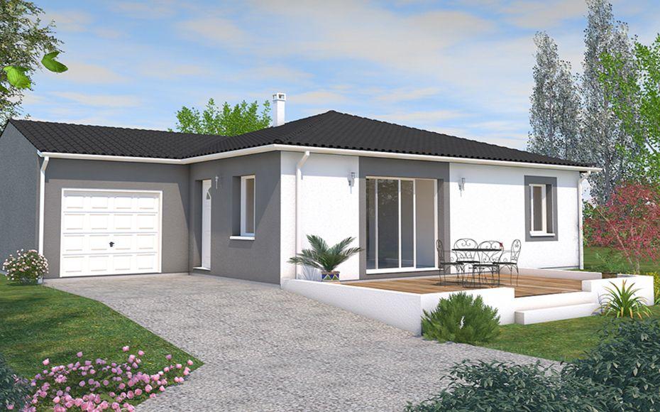 Orphée est un modèle de maison carré aux lignes contemporaines