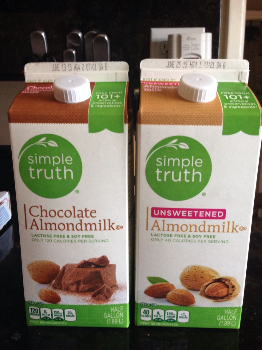 Simple Truth Unsweetened Almond Milk Nutrition Facts ...