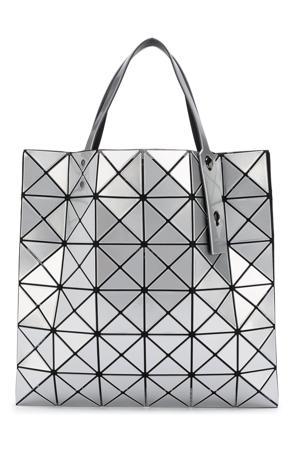 d4212039e93e Женская сумка-тоут prism BAO BAO ISSEY MIYAKE серебряного цвета