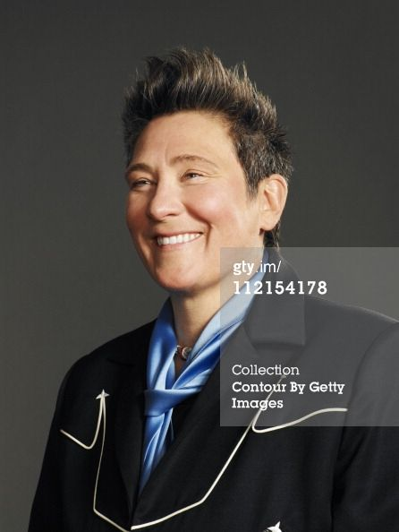 News Photo: Singer k d lang is photographed for The London Times
