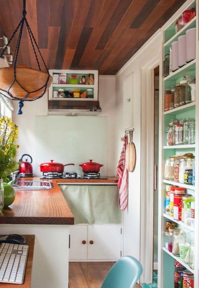 20 ideas for a small kitchen banbedag k chenzeilen pinterest haus kleines h uschen und. Black Bedroom Furniture Sets. Home Design Ideas