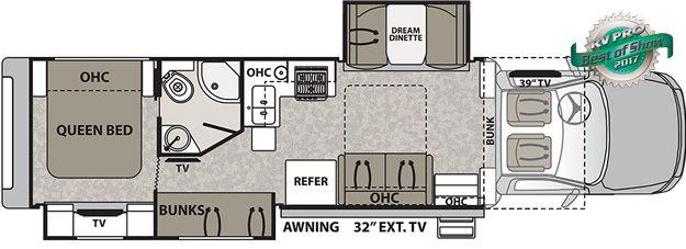 Dynamax Rv Floor Plans: Isata 5 Class C Motorhomes By Dynamax