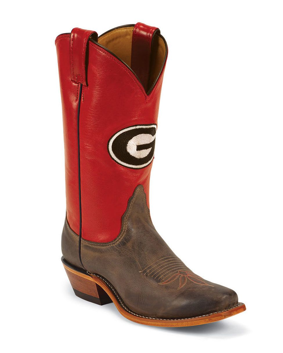 61fb90a5fed Pin by Kaylee Jo Brown on Shoes | Georgia boots, Georgia bulldogs ...